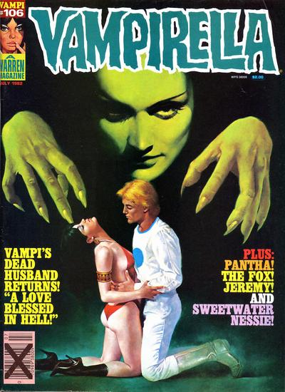 Cover for Vampirella (Warren, 1969 series) #106