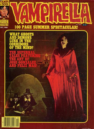 Cover for Vampirella (Warren, 1969 series) #109