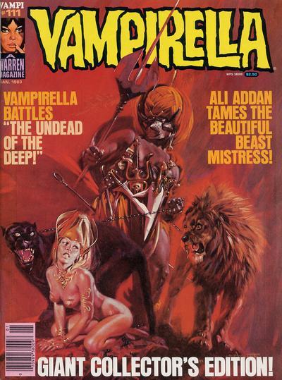 Cover for Vampirella (Warren, 1969 series) #111