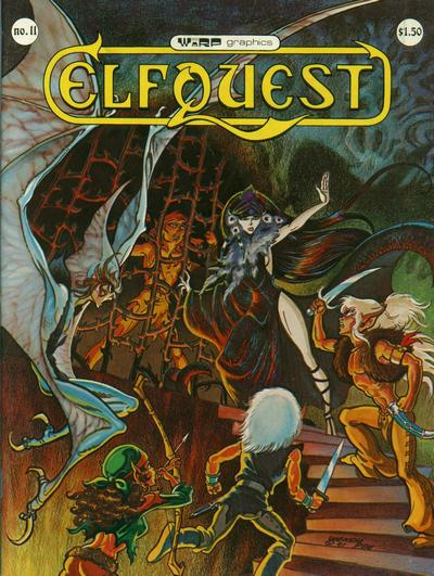 Cover for ElfQuest (WaRP Graphics, 1978 series) #11