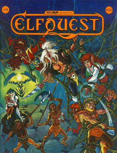 Cover for ElfQuest (WaRP Graphics, 1978 series) #14
