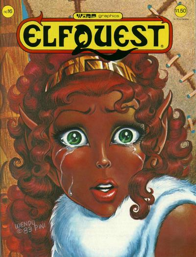 Cover for ElfQuest (WaRP Graphics, 1978 series) #16