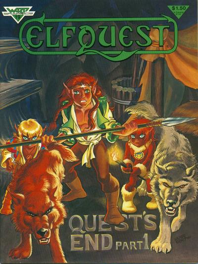 Cover for ElfQuest (WaRP Graphics, 1978 series) #19