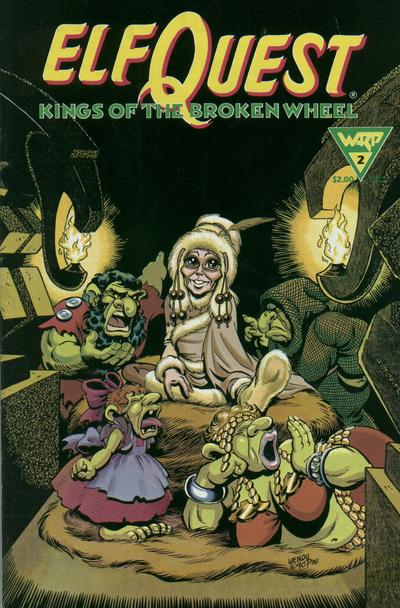 Cover for ElfQuest: Kings of the Broken Wheel (WaRP Graphics, 1990 series) #2