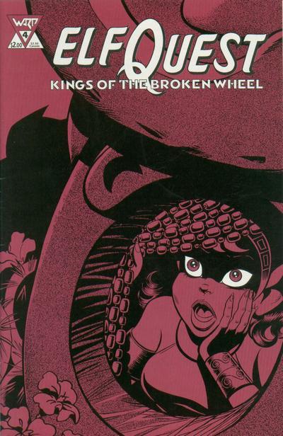 Cover for ElfQuest: Kings of the Broken Wheel (WaRP Graphics, 1990 series) #4
