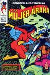 Cover for La Mujer Araña (Novedades, 1982 series) #9