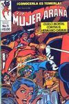 Cover for La Mujer Araña (Novedades, 1982 series) #11