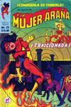 Cover for La Mujer Araña (Novedades, 1982 series) #23