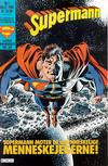 Cover for Supermann (Semic, 1985 series) #1/1989
