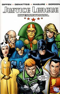 Cover Thumbnail for Justice League International (DC, 2008 series) #1