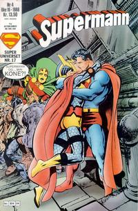 Cover Thumbnail for Supermann (Semic, 1985 series) #4/1988