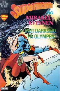 Cover Thumbnail for Supermann (Semic, 1985 series) #10/1989