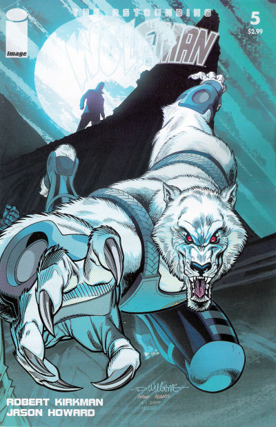 Cover for The Astounding Wolf-Man (Image, 2007 series) #5