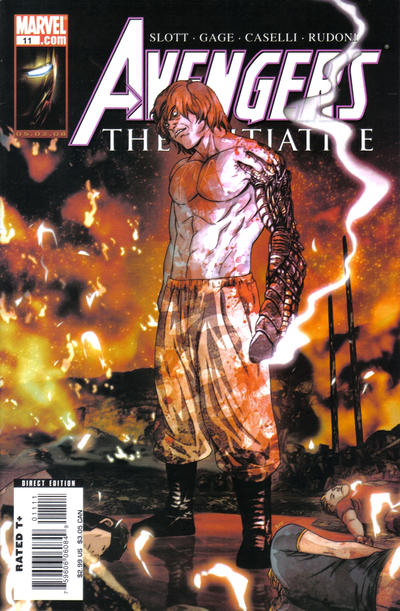 Cover for Avengers: The Initiative (Marvel, 2007 series) #11