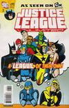 Cover for Justice League Unlimited (DC, 2004 series) #43