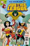 Cover for Justice League Unlimited (DC, 2004 series) #44