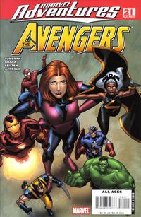 Cover Thumbnail for Marvel Adventures The Avengers (Marvel, 2006 series) #21