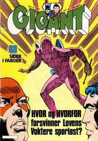Cover Thumbnail for Gigant (Semic, 1977 series) #6/1977