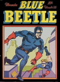 Cover Thumbnail for Blue Beetle (Holyoke, 1942 series) #16
