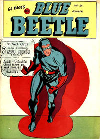 Cover Thumbnail for Blue Beetle (Holyoke, 1942 series) #26