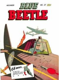 Cover Thumbnail for Blue Beetle (Holyoke, 1942 series) #27