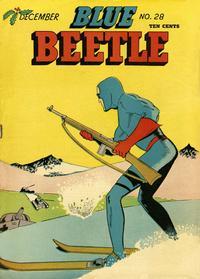 Cover Thumbnail for Blue Beetle (Holyoke, 1942 series) #28