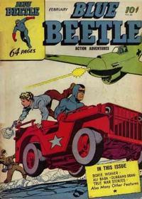 Cover Thumbnail for Blue Beetle (Holyoke, 1942 series) #30