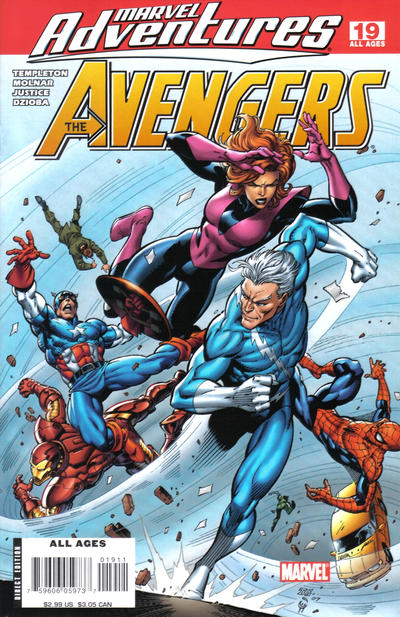 Cover for Marvel Adventures The Avengers (Marvel, 2006 series) #19