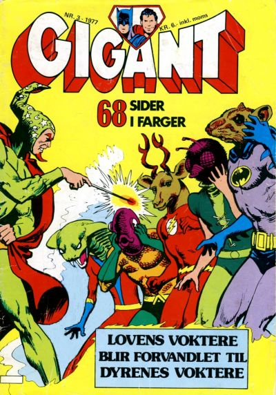 Cover for Gigant (Semic, 1977 series) #3/1977