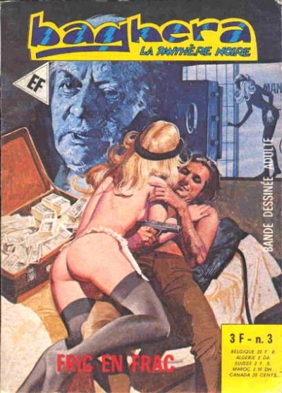 Cover for Baghera (Elvifrance, 1977 series) #3