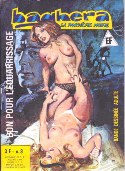 Cover for Baghera (Elvifrance, 1977 series) #8