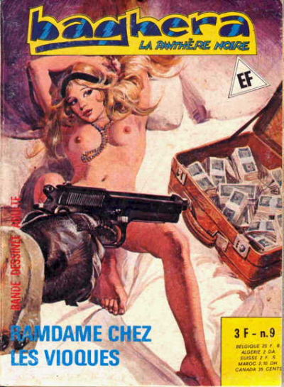 Cover for Baghera (Elvifrance, 1977 series) #9