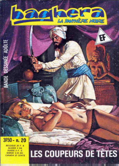 Cover for Baghera (Elvifrance, 1977 series) #20