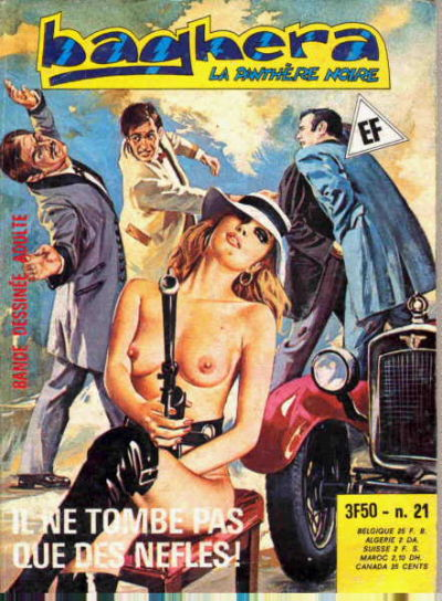 Cover for Baghera (Elvifrance, 1977 series) #21