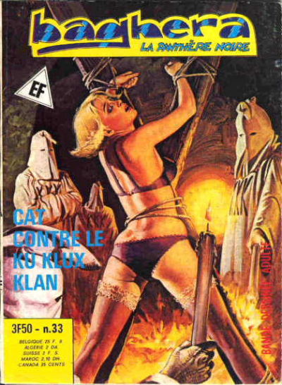 Cover for Baghera (Elvifrance, 1977 series) #33
