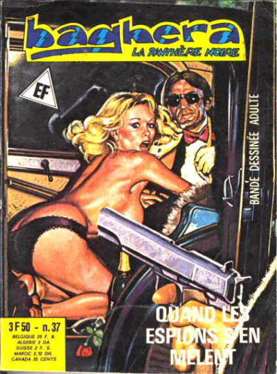 Cover for Baghera (Elvifrance, 1977 series) #37