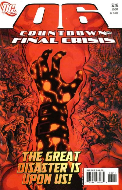 Cover for Countdown (DC, 2007 series) #6