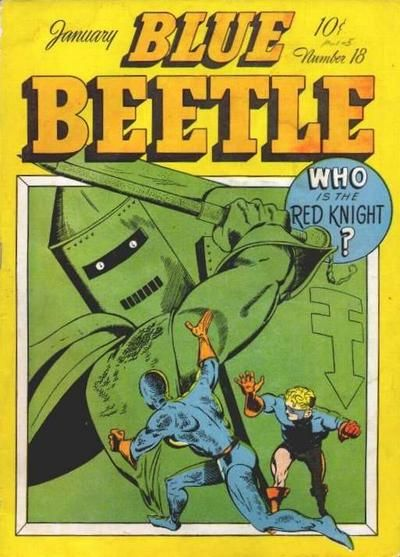 Cover for Blue Beetle (Holyoke, 1942 series) #18