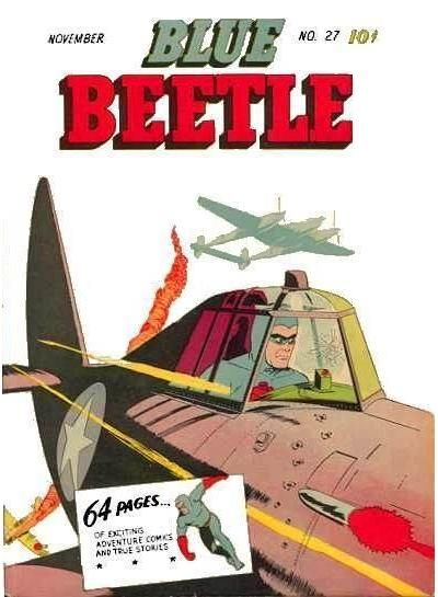 Cover for Blue Beetle (Holyoke, 1942 series) #27