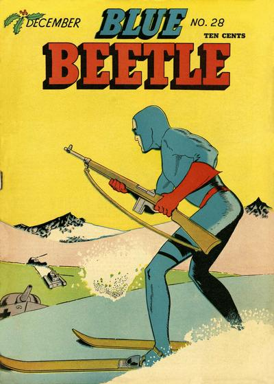 Cover for Blue Beetle (Holyoke, 1942 series) #28