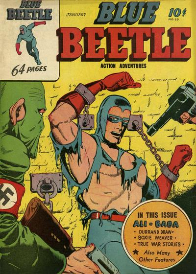 Cover for Blue Beetle (Holyoke, 1942 series) #29