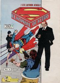 Cover Thumbnail for Supermán (Grupo Editorial Vid, 1986 series) #4