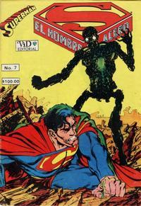 Cover Thumbnail for Supermán (Grupo Editorial Vid, 1986 series) #7