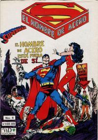 Cover Thumbnail for Supermán (Grupo Editorial Vid, 1986 series) #8