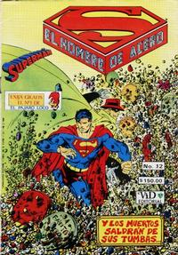 Cover Thumbnail for Supermán (Grupo Editorial Vid, 1986 series) #12