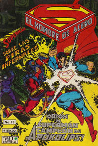 Cover Thumbnail for Supermán (Grupo Editorial Vid, 1986 series) #15