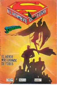 Cover Thumbnail for Supermán (Grupo Editorial Vid, 1986 series) #36