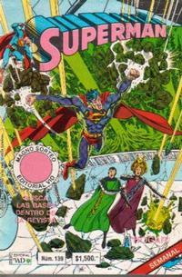 Cover Thumbnail for Supermán (Grupo Editorial Vid, 1986 series) #139