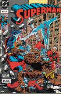 Cover Thumbnail for Supermán (Grupo Editorial Vid, 1986 series) #158