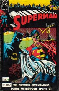 Cover Thumbnail for Supermán (Grupo Editorial Vid, 1986 series) #162